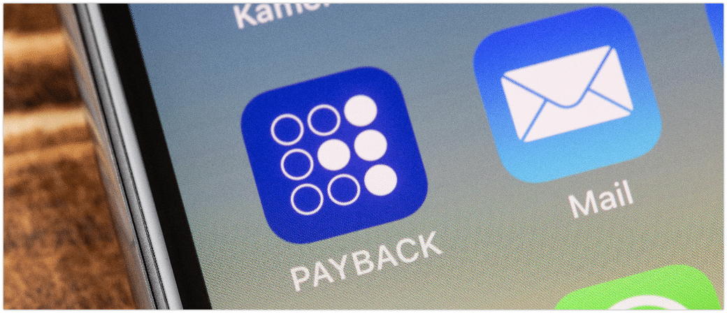 Payback App Smartphone