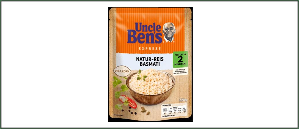 Rueckruf Uncle Bens Basmati Reis