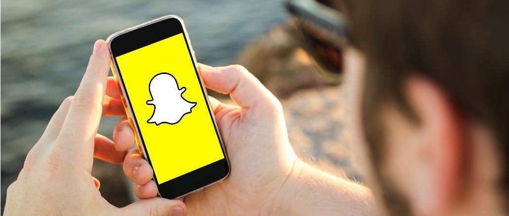 Snapchat Symbolbild