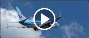 TUI Flugzeug Himmel Urlaub