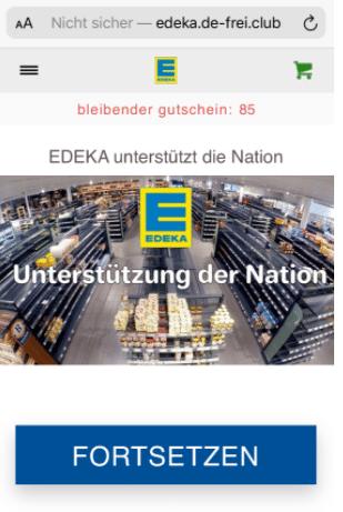 2020-08-13 WhatsApp Kettenbrief Edeka 125 Euro Gutschein 1
