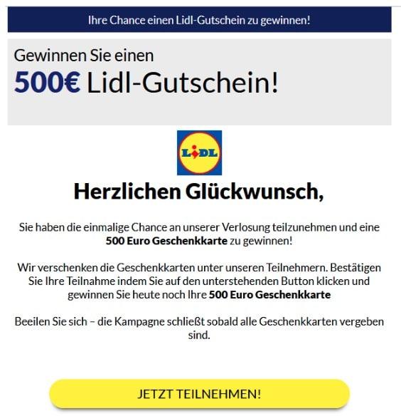 2020-08-16 Lidl Spam-Mail Ihre_Bestellnummer