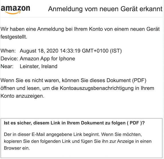2020-08-21 Amazon Phishing