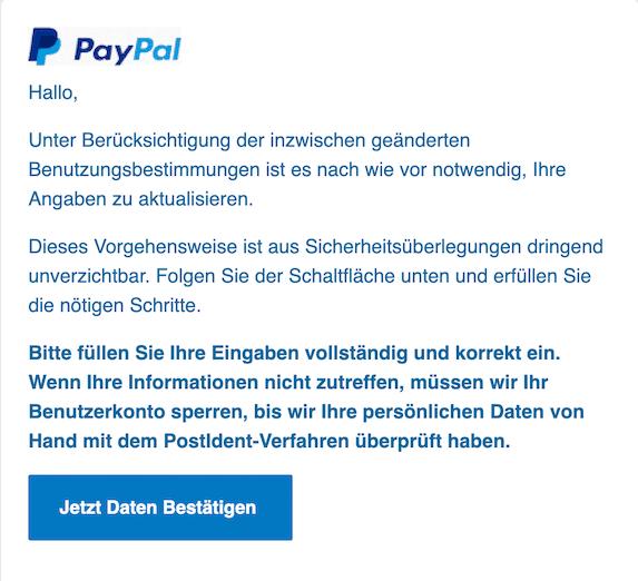 2020-08-24 Paypal Phishing