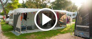Campingplatz Symbolbild Video