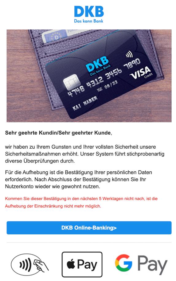 2020-09-02 Phishing DKB