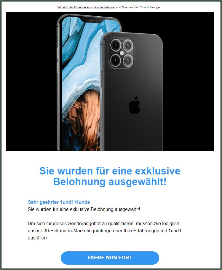 2020-09-11 Spam Apple iPhone 12 1