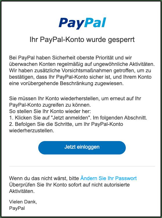 Paypal Wir Können Sie Nicht Einloggen