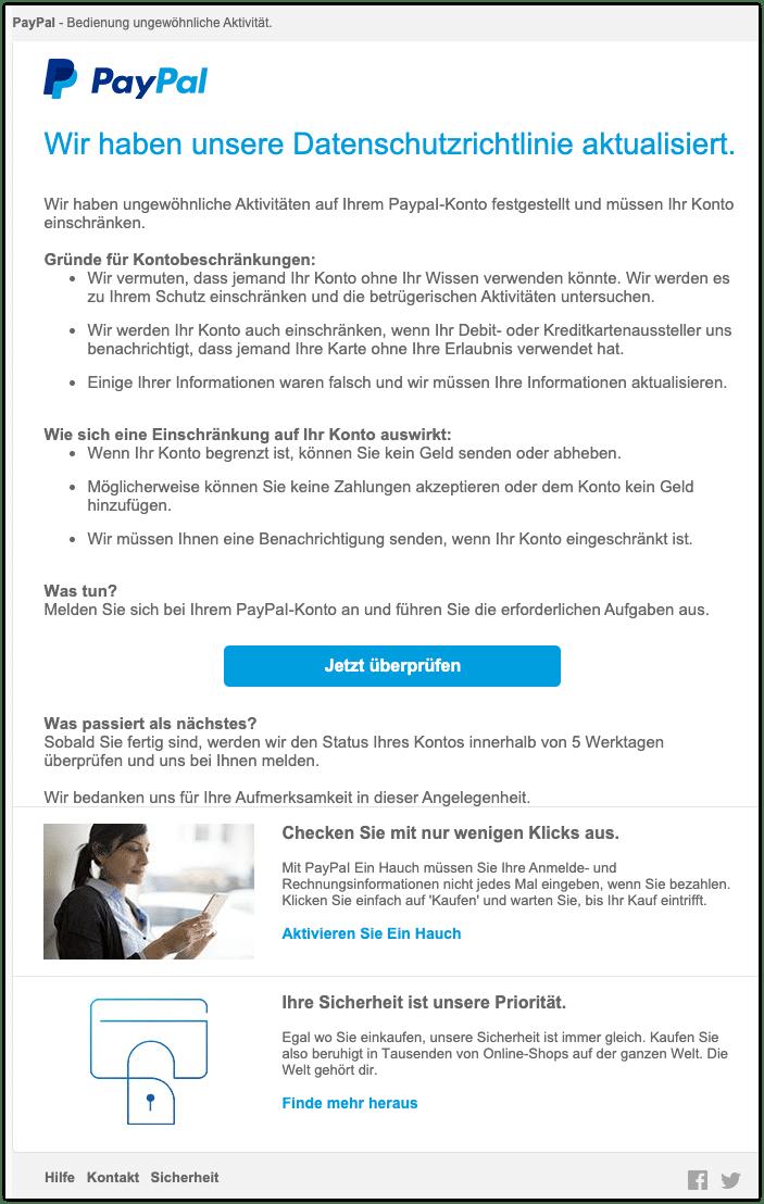 2020-09-18 Phishing PayPal