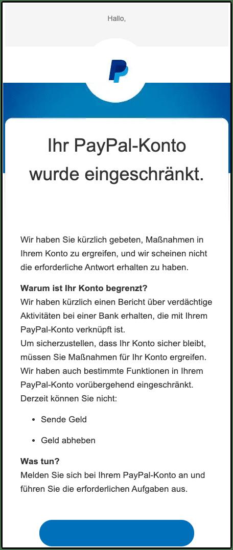 2020-09-28 PayPal Phishing