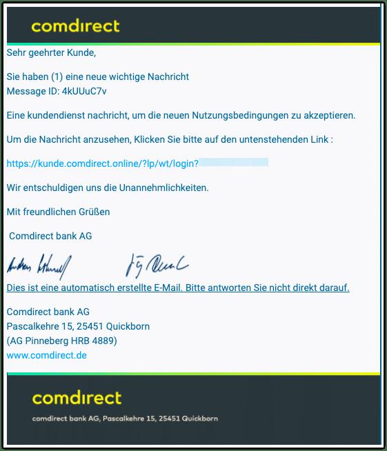 2020-11-17 Phishing Comdirect