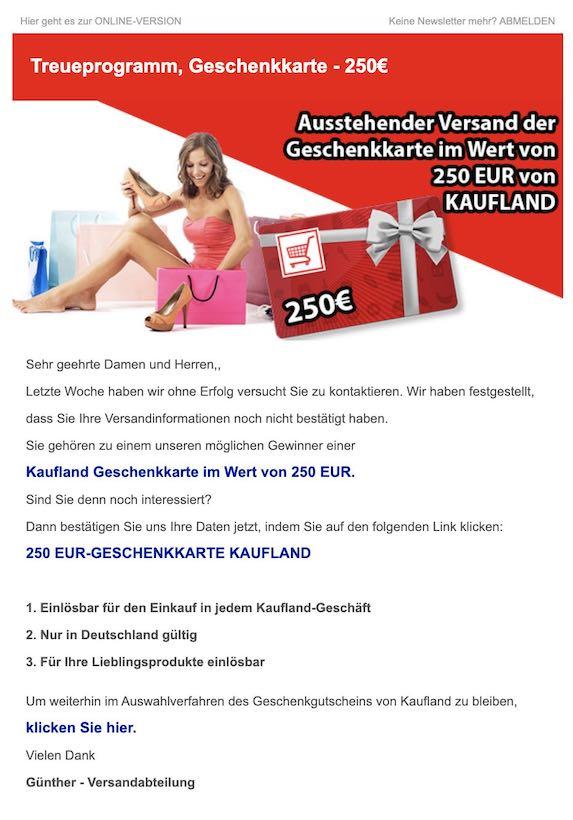2021-03-13 Kaufland Gutschein
