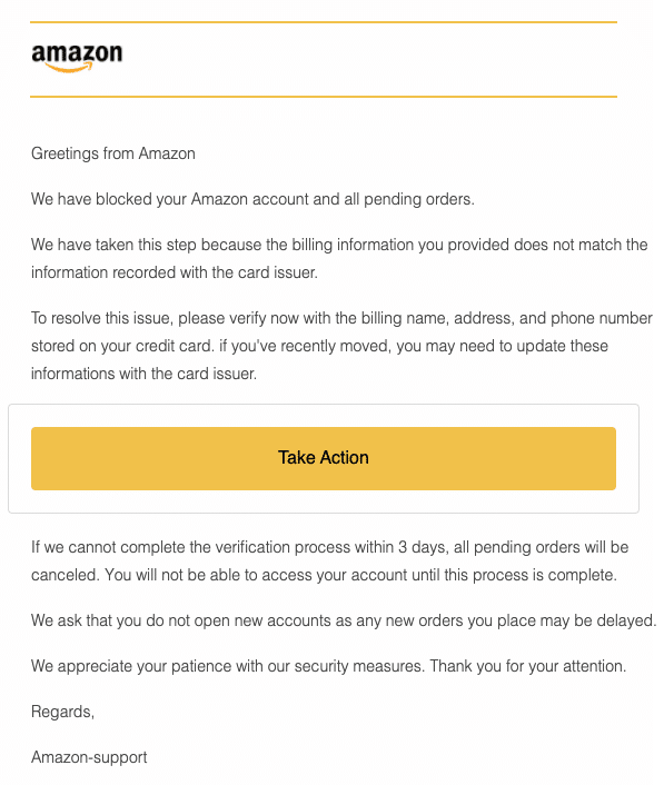 2020-10-02 Amazon Spam Fake-Mail New Transaction