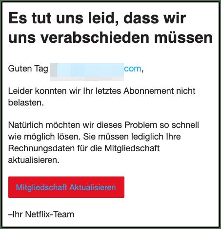 2020-10-06 Phishing Netflix