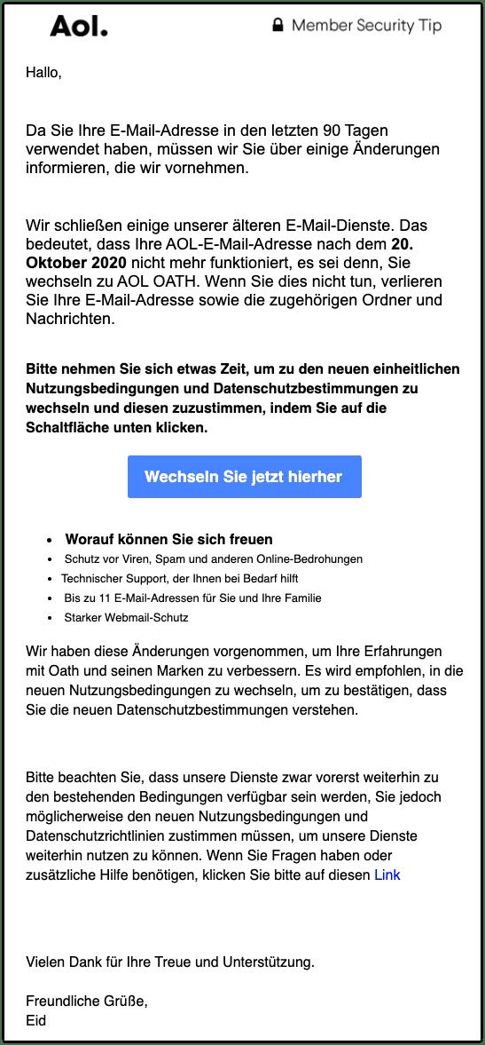 2020-10-14 Spam AOL