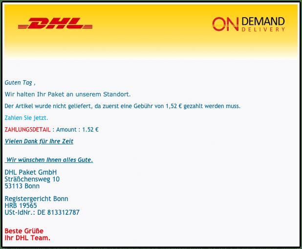 2020-11-06 DHL Spam
