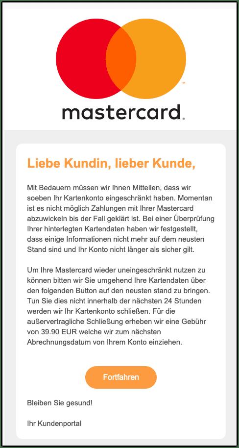 2020-11-12 Phishing Mastercard