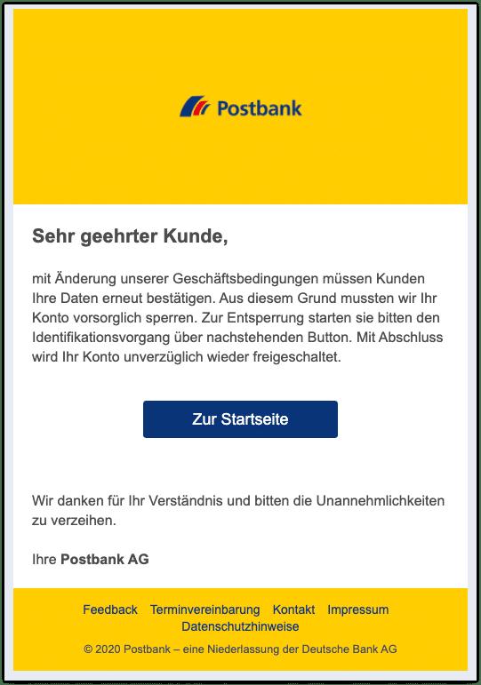 2020-11-30 Phishing Postbank