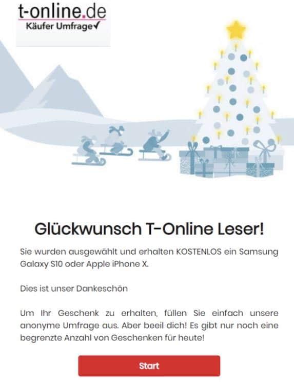 2020-12-02 Telekom Gewinnspiel