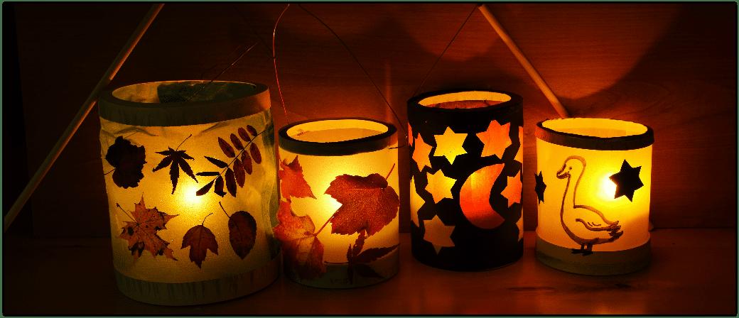 Laternen, lampions, St Martin Umzug, Hoffnung, Aktion Laternen Fenster