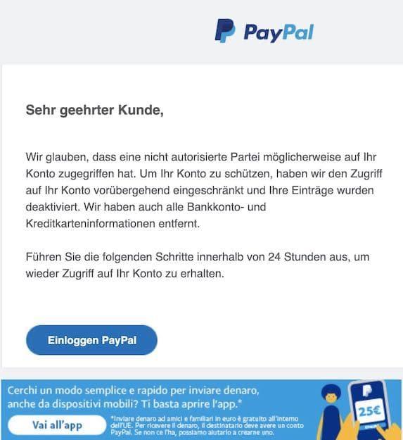 2020-11-18 Phishing PayPal