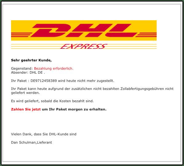 2020-11-23 Spam DHL