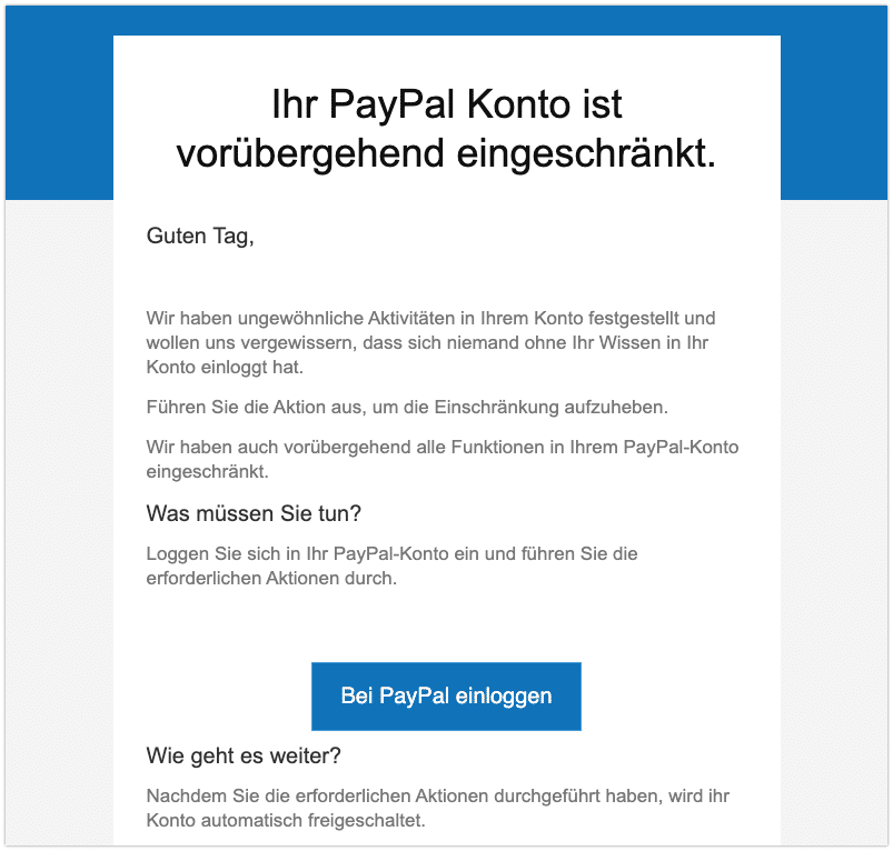 2020-11-25 Phishing PayPal
