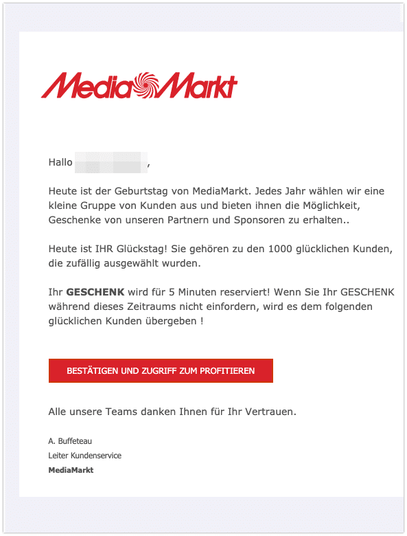 2020-11-25 Spam MediaMarkt