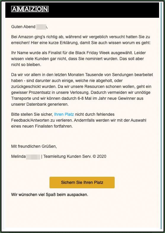 2020-11-26 Spam Amazon Abofalle