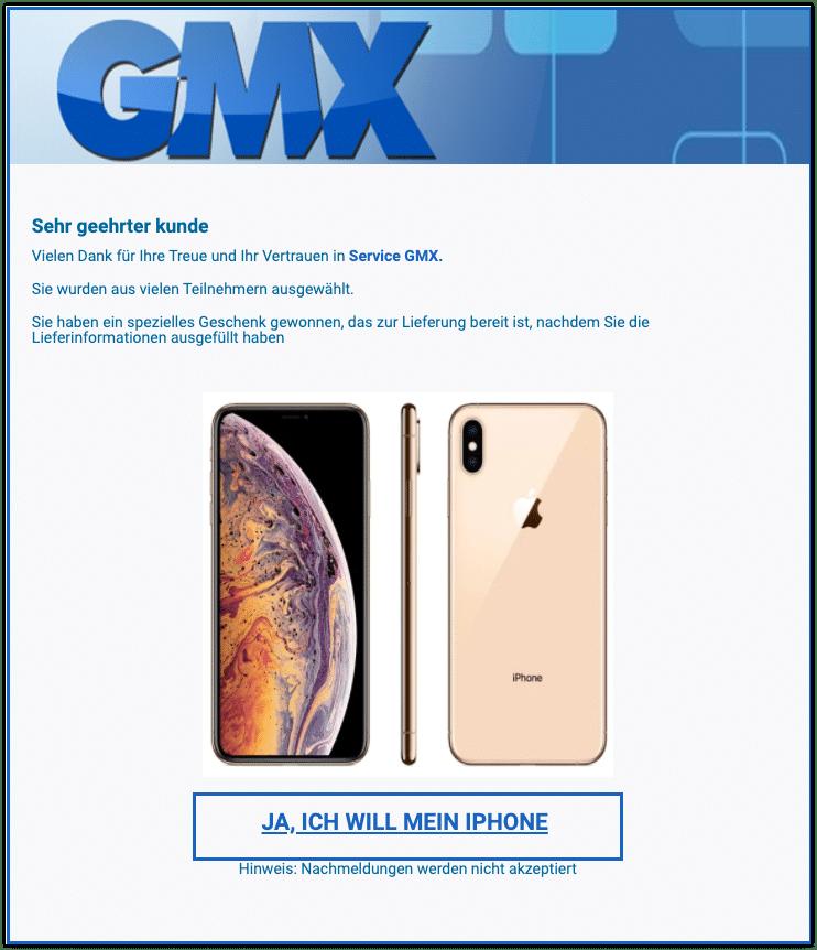 2020-11-27 Spam GMX