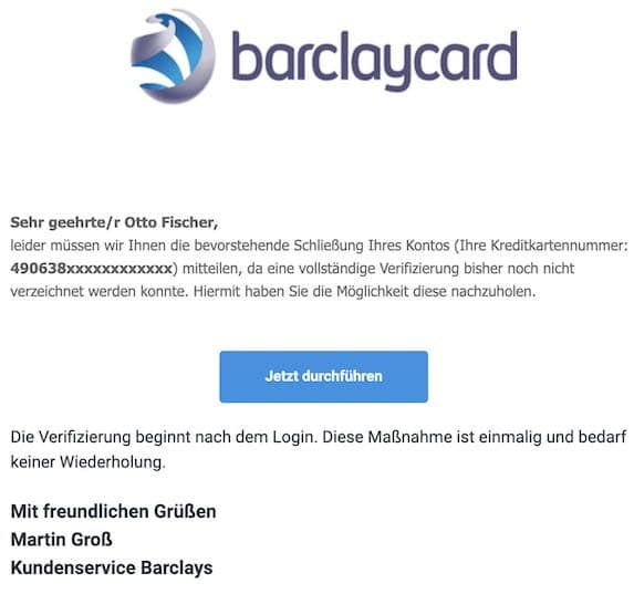 2020-12-01 Barclay Phishing