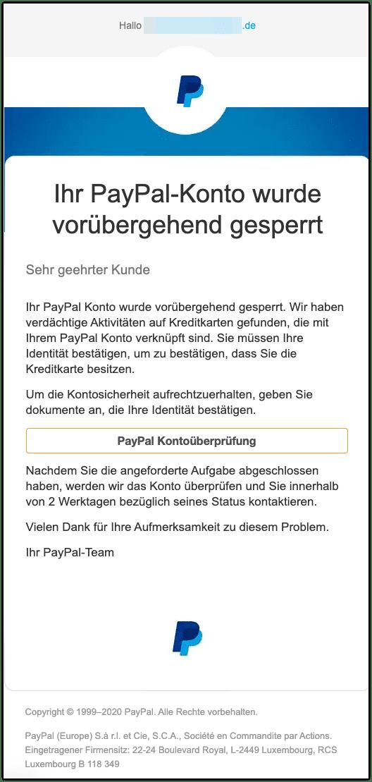 2020-12-09 Phishing PayPal