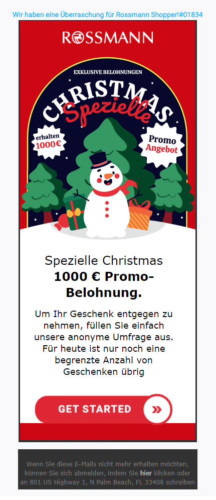 2020-12-18 Rossmann Spam Fake-Mail