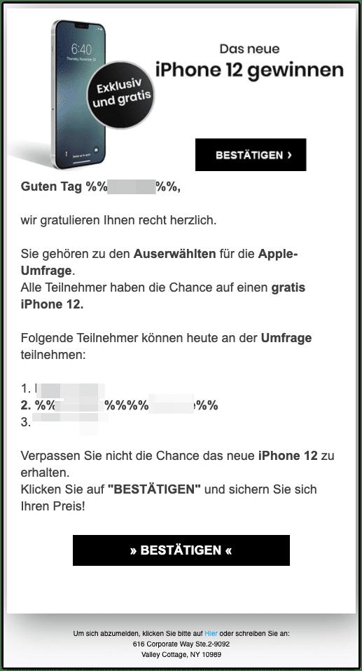 2021-03-15 Spam iPhone12