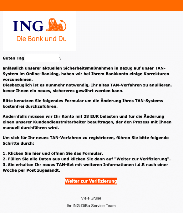 2020-12-22 ING Diba Spam Fake-Mail