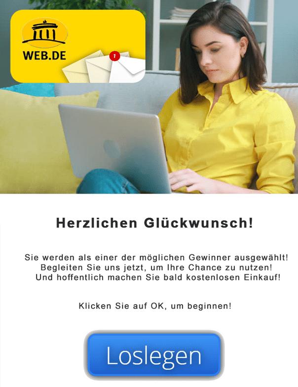 2021-01-14 web-de Spam Fake-Mail