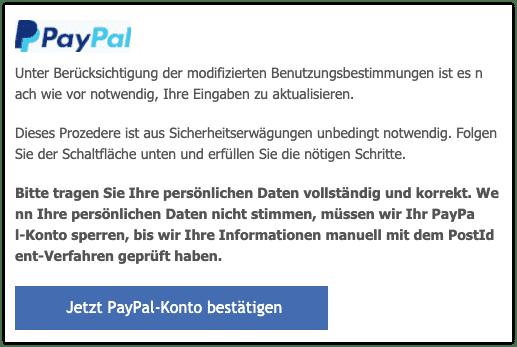 2021-01-04 Phishing PayPal