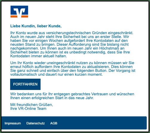 2021-01-04 Phishing Volksbank