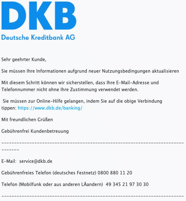 2021-01-15 DKB Spam Fake Mail AGB