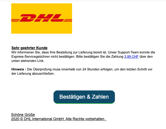 2021-01-19 DHL Spam-Mail Abofalle
