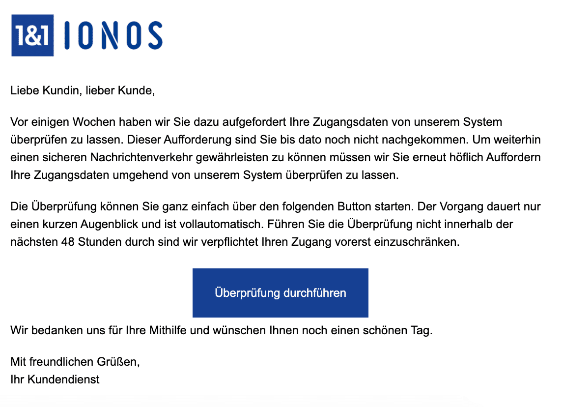 2021-01-25 IONOS Phishing Fake-Mail