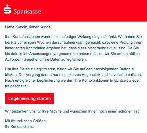 2021-01-26 Phishing Sparkasse