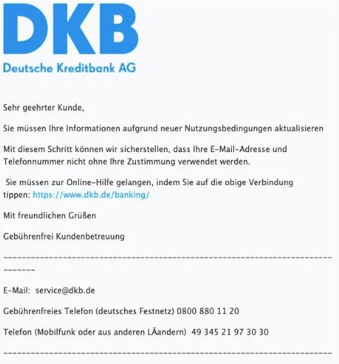 2021-01-28 Phishing DKB