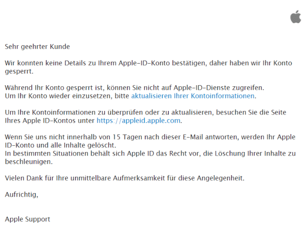 2021-01-31 Apple Spam Fake-Mail