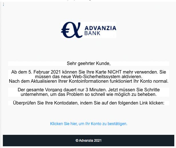 2021-02-01 Phishing Advanzia