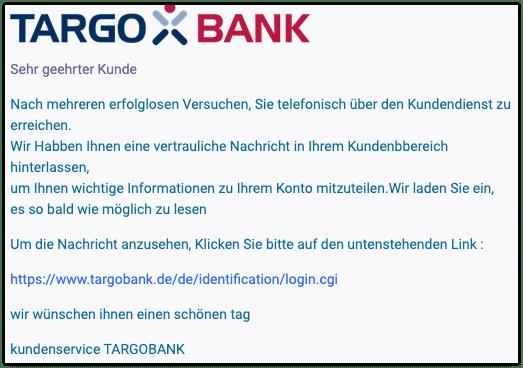 2021-03-16 Phishing Targobank