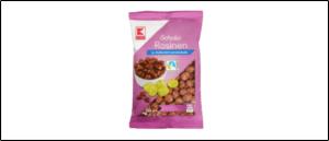 Rueckruf Kaufland Rosinen in Schokolade
