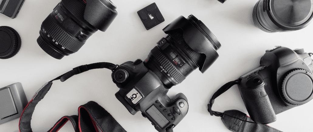 Symbolbild Spiegelreflexkamera, Fotoapparat, Kamera