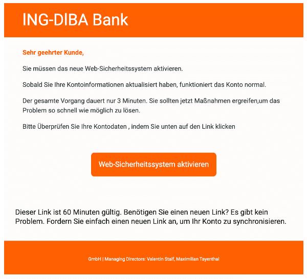 2021-02-10 ING DiBa Spam Fake-Mail