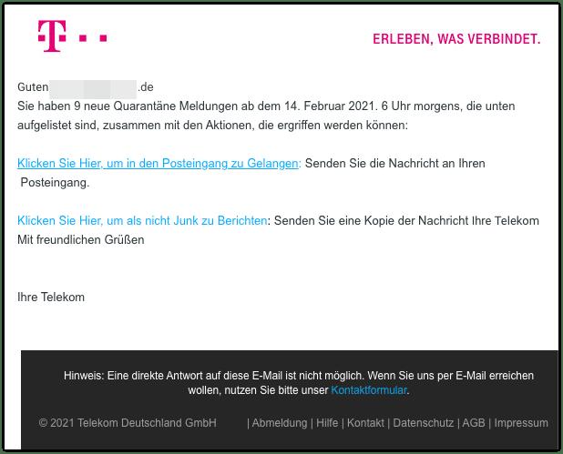 2021-02-17 Phishing Telekom
